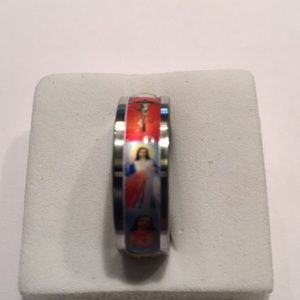 Jewelry - Pictures of Jesus Christ Stainless steel size 10